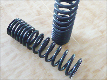 Motorcycle shock absorber spring